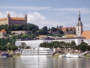 Братислава - панорама города